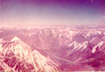 Pamir. View from the summit of  Communism peak